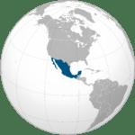 Mappa Messico