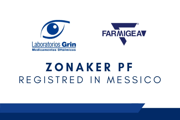 Zonaker PF registred in Mexico